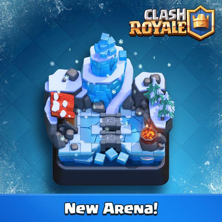 Actualización Clash Royale 4 de Julio Nuevas cartas y nueva arena