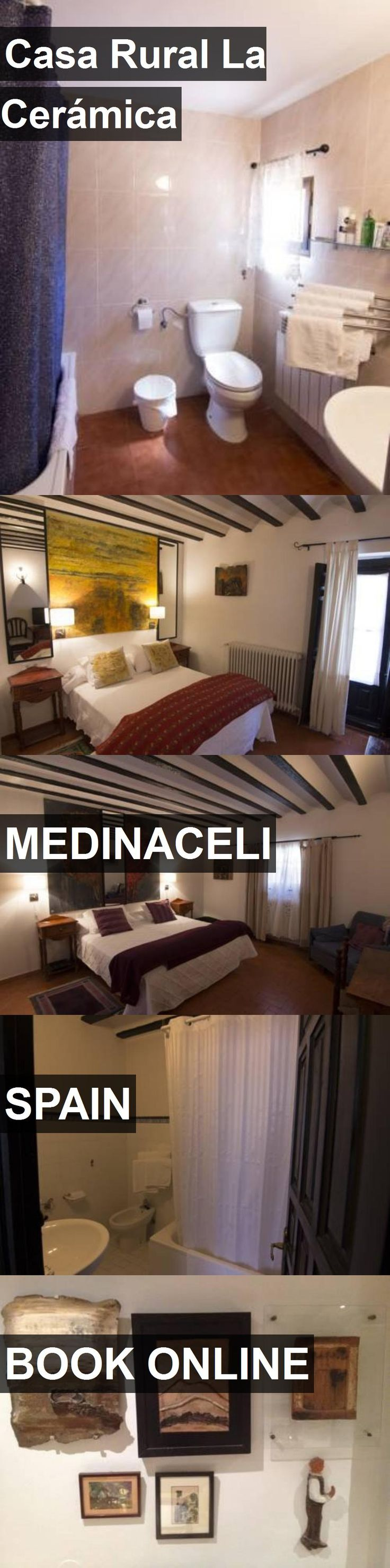 Hotel Casa Rural La Cerámica in Medinaceli, Spain. For more information, photos, reviews and best prices please follow the link. #Spain #Medinaceli #travel #vacation #hotel