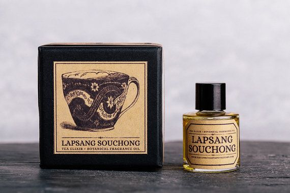 Lapsang Souchong Tea Fragrance - Earthy and spicy, Lapsang Souchong is a unique and unusual fragrance inspired by a type of smoky tea popular in Asia, Lapsang Souchong.