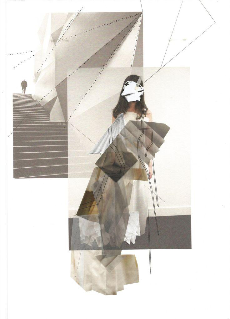 Fashion Sketchbook - fashion collage; fashion portfolio // Tascha Elliott