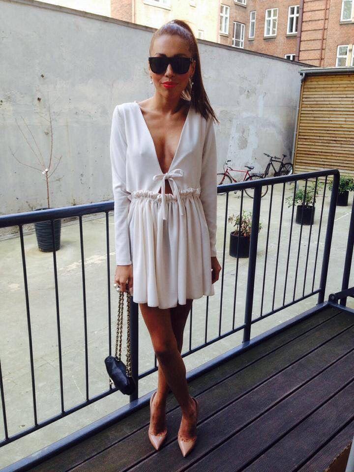 Dress made by Sofie Kimman - White summer dress