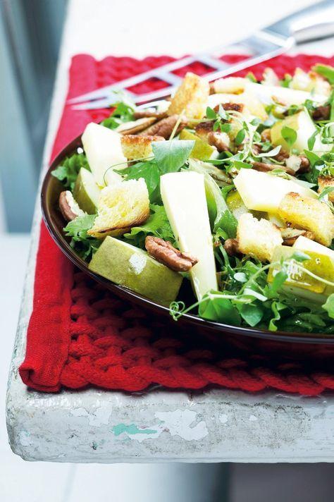 Emmental-päärynäsalaatti   K-ruoka #joulu