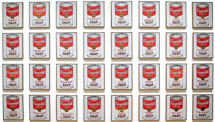 campbell's soup pics   II- Deux visions différentes de l'Amérique