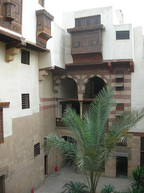 well preserved traditional arabic house