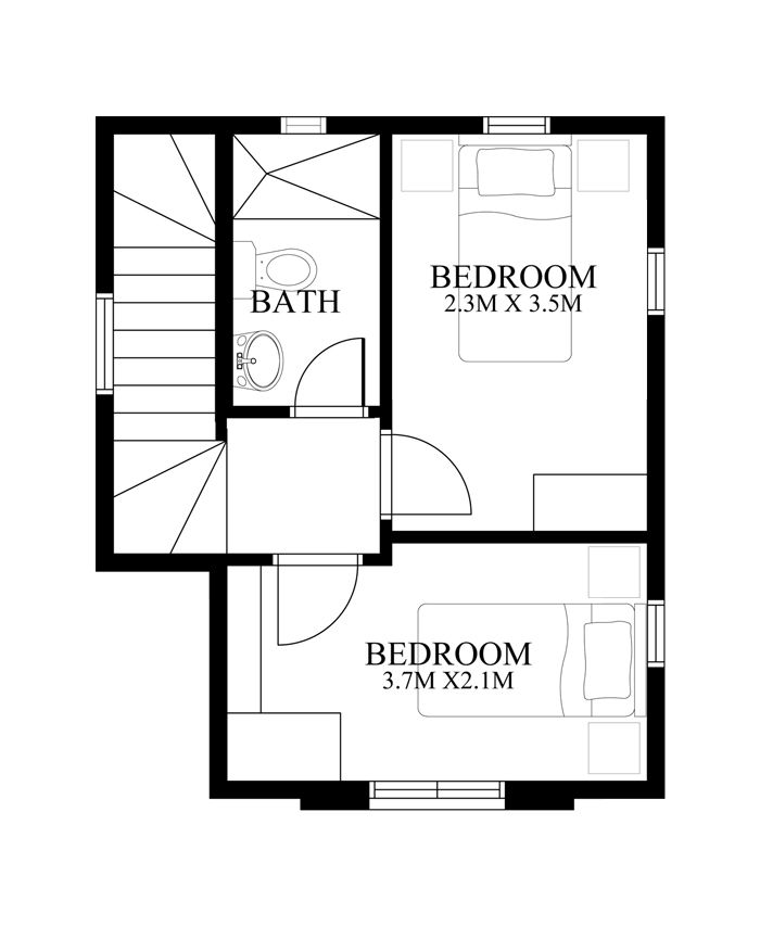 Modern House Design Series Phd 2015019 Pinoy House Designs Modern House Design Modern House House Design