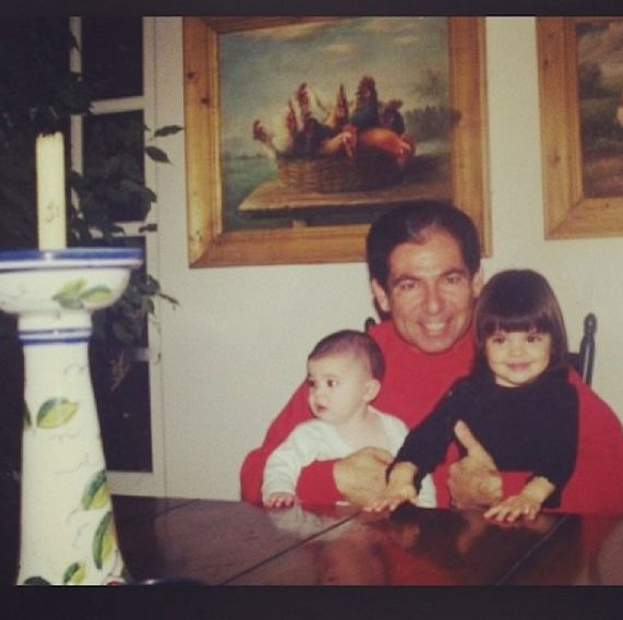 Robert Senior, Baby Kylie, and Toddler Kendall