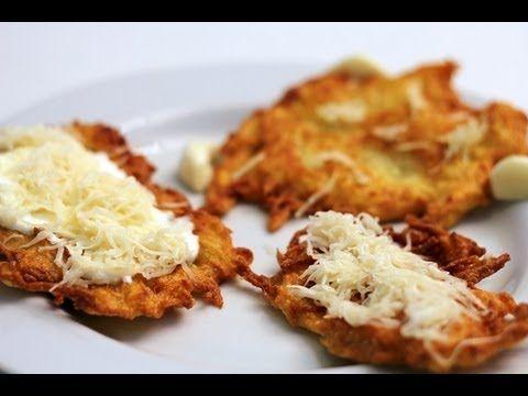 Beré, tócsni azaz krumplilepény videó recept (hash brown)