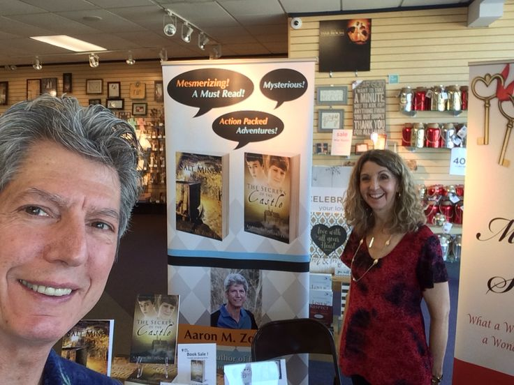 Aaron and Joyce at the Family Christian Store next to the Killeen Mall!