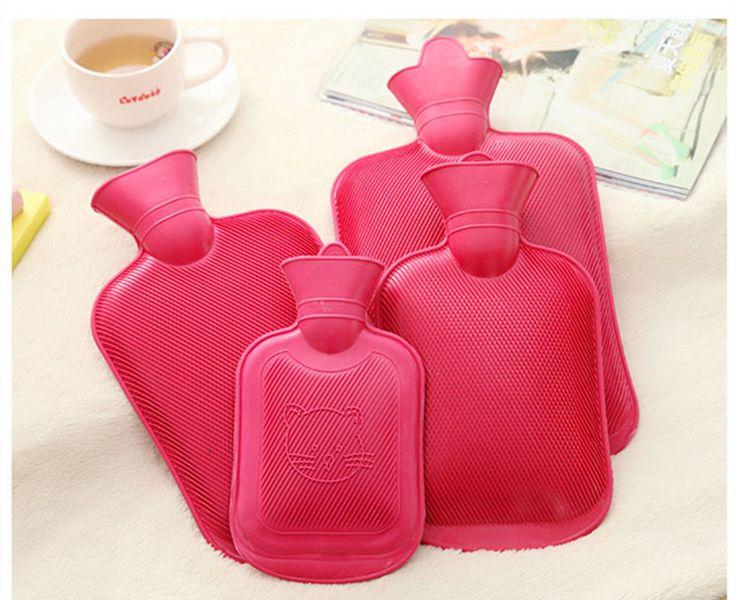 500ml 1000ml 1750ml 2000ml Rubber Hot Water Bottle Bag Hand Warmers Winter Warm