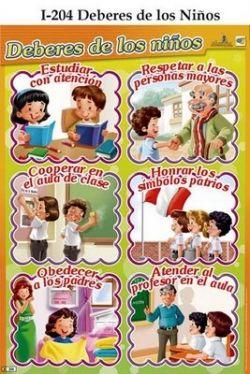 Deberes de los Niños y Niñas                                                                                                                                                     Más