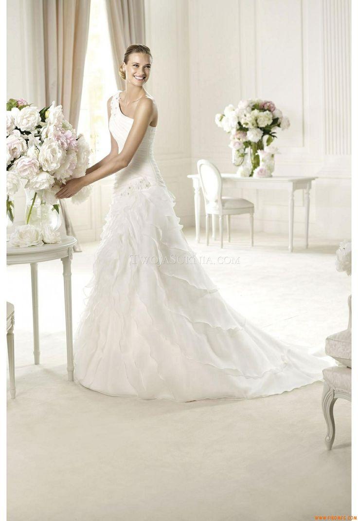 305 best white wedding dresses images on Pinterest   Wedding frocks ...