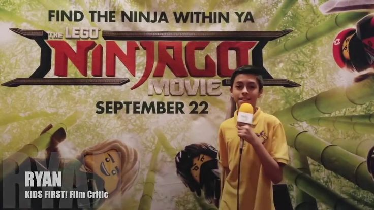 Interviews at The LEGO Ninjago Movie conducted by KIDS FIRST! Film Critic  Ryan R. #KIDSFIRST! #TheLEGONinjagoMovie