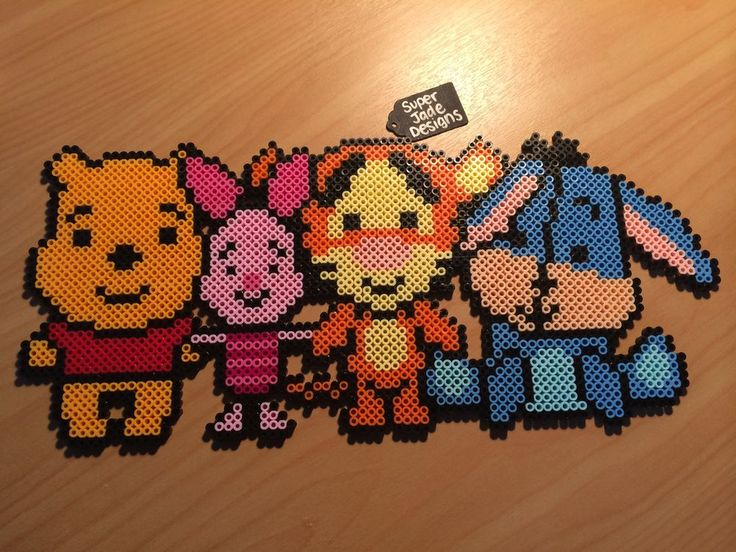 Pooh Bear & Friends. Click on image to see more!
