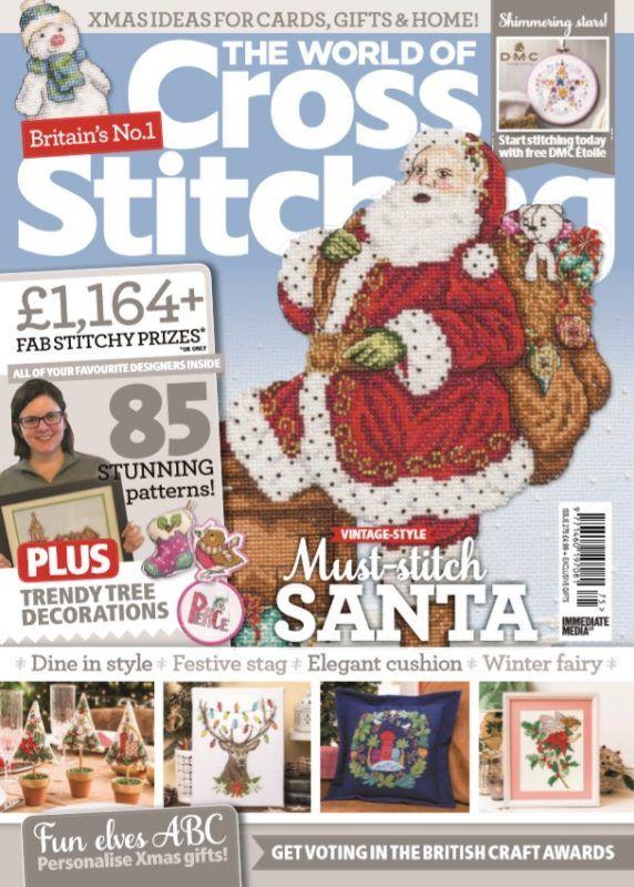 Christmas 2020 Issue 275 The World Of Cross Stitching Magazine World of Cross Stitching Issue 275 | Cross stitching, Cross stitch
