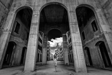 "Saatchi Art Artist Peter Zelei; Photography, ""Colonnade I. - Limited Edition 2 of 10"" #art"