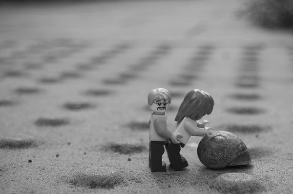 LEGO in Love by Kym Haverson | Creative Boom Magazine