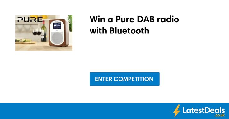Win a Pure DAB radio with Bluetooth
