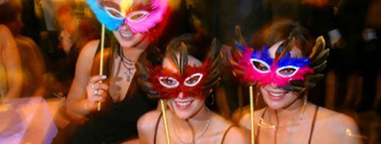 antifaces, fiesta veneciana