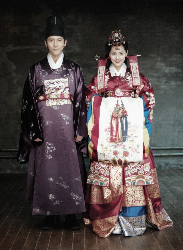 Traditional wedding costume  www.hanboklynn.co.kr