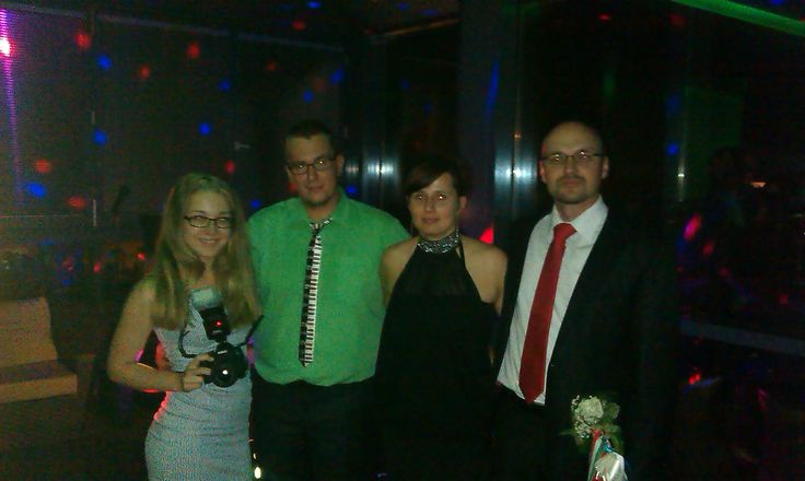 Múlt szombati staff: Szalay Benita, Dancing Dávid, Dancing Szilvi.