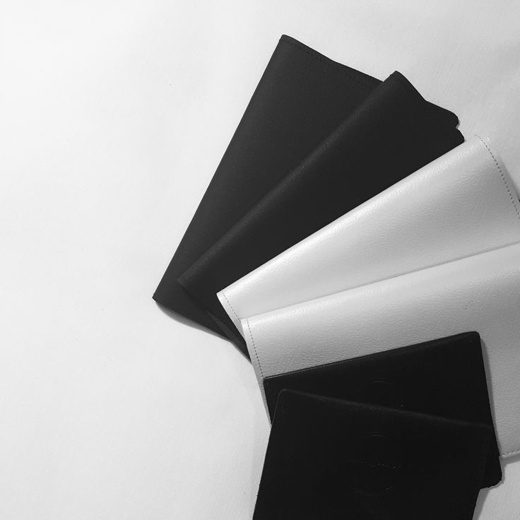 White and black handmade leather items are here | Scandinavian Style