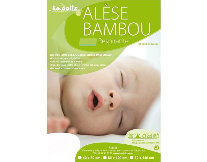 Alèse Bambou pour Lit 70 x 140 cm KADOLIS