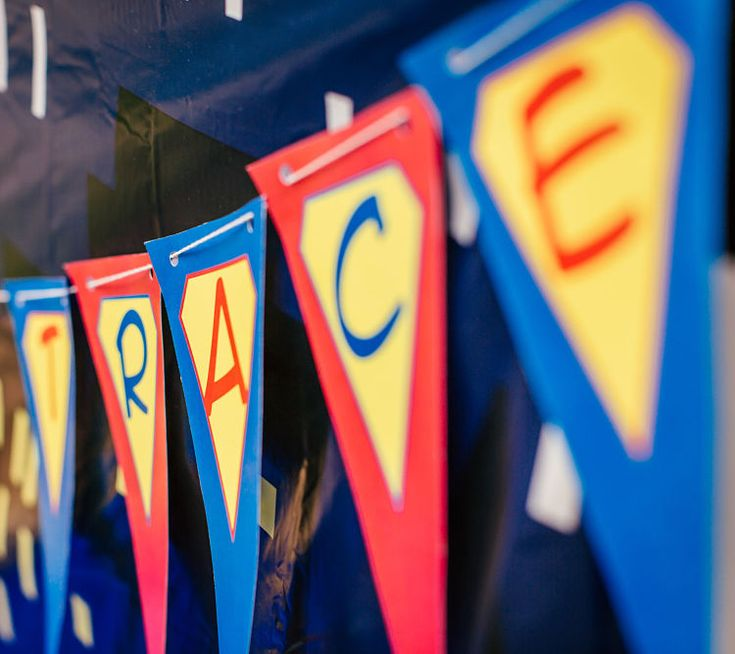 Trace's 4 Year Old Superhero Birthday Party