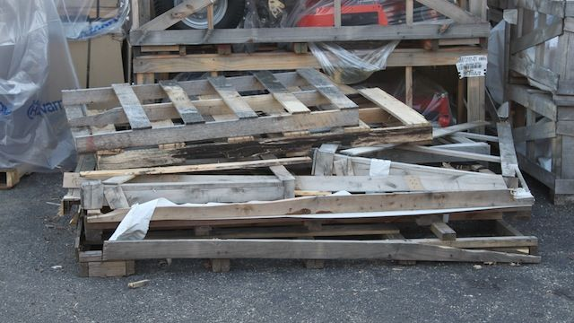 Where to find pallets