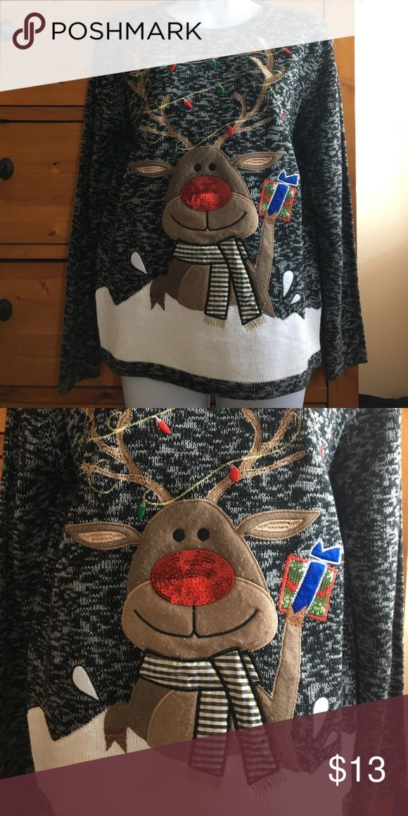 Women's Christmas sweater size small Women's Christmas sweater size small.  Worn once. Sweaters