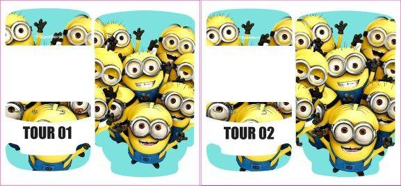 heart minion for tour bb