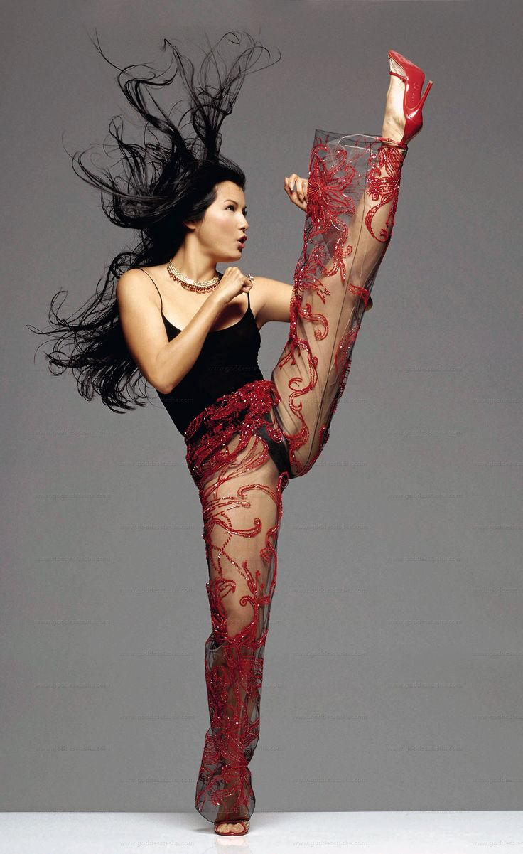 Kelly Hu--- fierce.