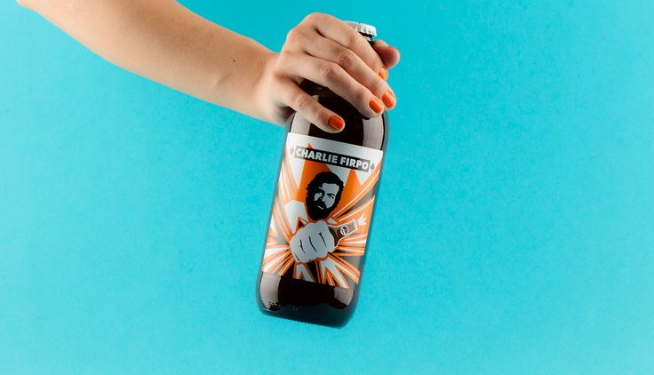 Hedon Craft Brewery Identity - Art Direction on Behance Beer label design by Flying Objects