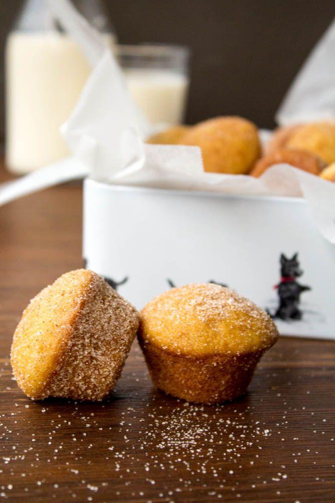 my blissfood: Mini muffins με κανέλα και ζάχαρη
