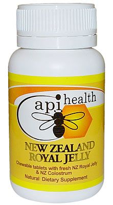 NZ Royal Jelly & NZ Colostrum - 60 Chewable Tablets | Shop New Zealand