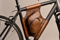 Handmade Leather Bicycle Bag