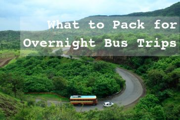 what to pack for overnight bus trips