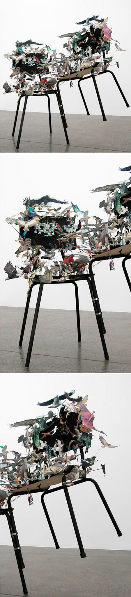 collage, sculpture, awesome. peter madden.