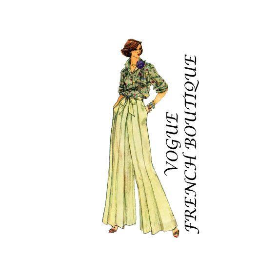 1970s Vogue 7949 Misses Scoop Neck Tunic Dress by patternshop, $7.99 ...