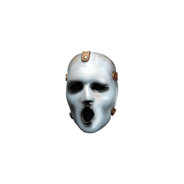Zombie Ghost Face Mask ❤ liked on Polyvore featuring costumes, ghost halloween costume and ghost costume
