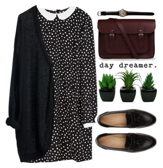 Cause darling I'm a nightmare dressed like a daydream by michellecoolio on Polyvore featuring Zara, J.Crew, The Cambridge Satchel Company and MTWTFSS Weekday