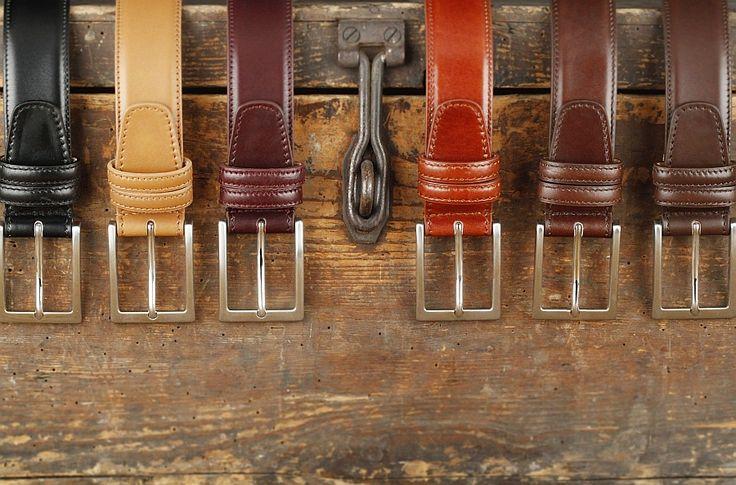 Herrengürtel, gefertigt in Italien, aus feinem französischem Kalbsleder. . . . . . der Blog für den Gentleman - www.thegentlemanclub.de/blog
