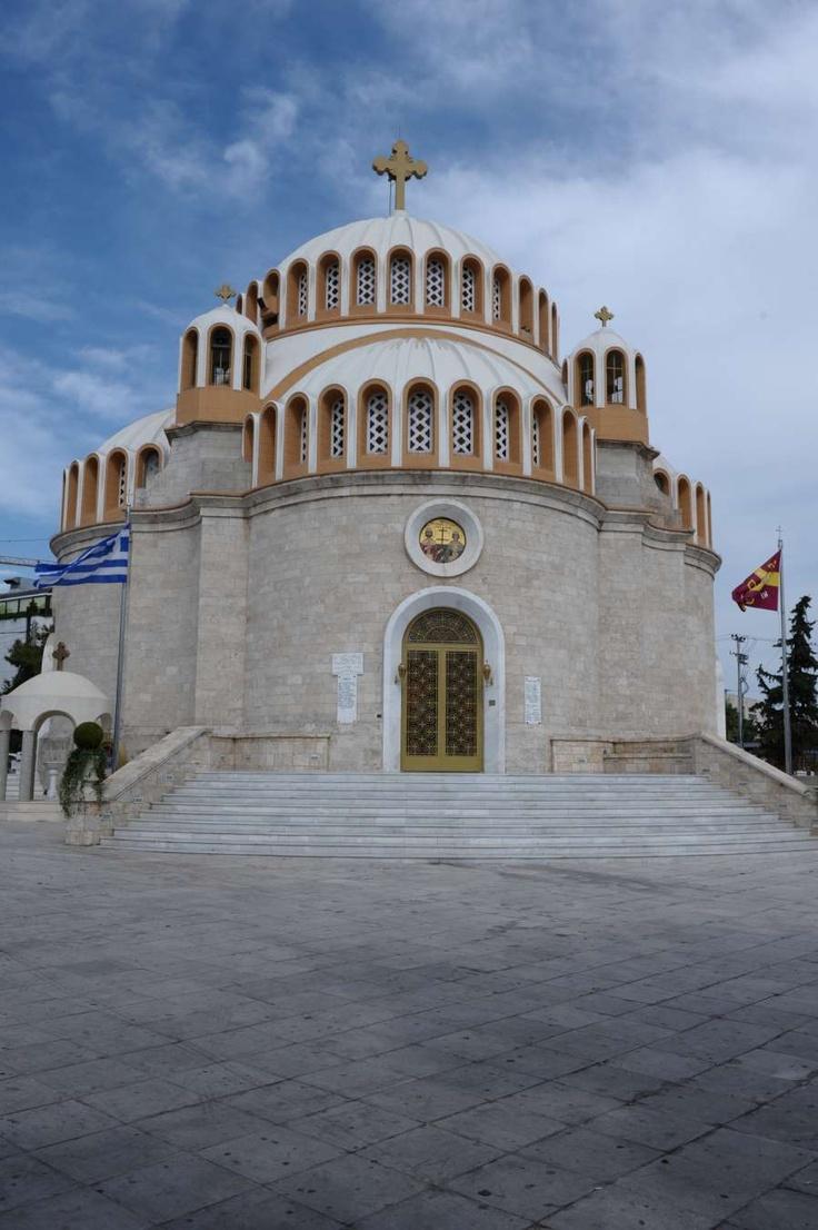 Agios Kostantinos kai Elenis, Glyfada, , #Athens, Greece.