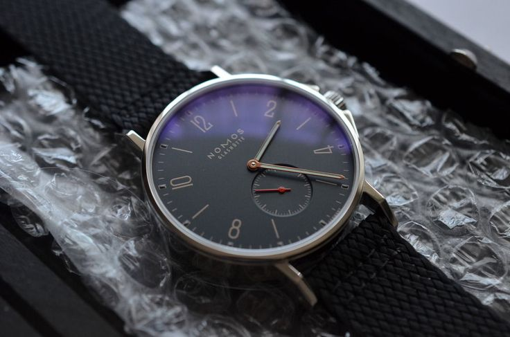 Nomos Ahoi Atlantik Brand New Full Authorized Dealer Warranty Ahoy | eBay