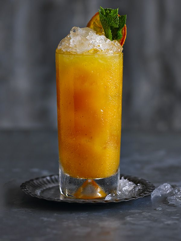 Perfect for autumn, this pumpkin and spiced rum cocktail comes from Cahoots in Soho.
