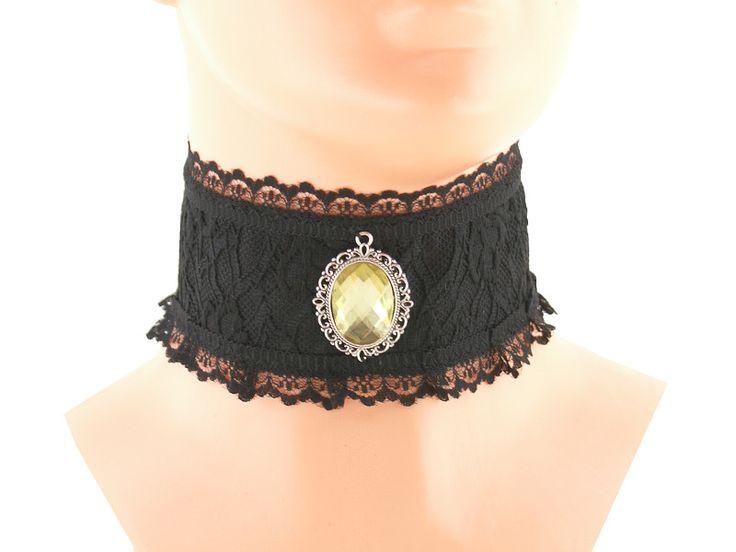 Halsband, Halsreif, halskette, gothic schmuck 0235 von Online Shop für Gothic & Burlesque, Glamour, Rockabilly Kleidung und Accessoires auf DaWanda.com
