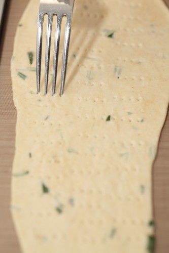 Italian Olive Oil Crackers with Rosemary