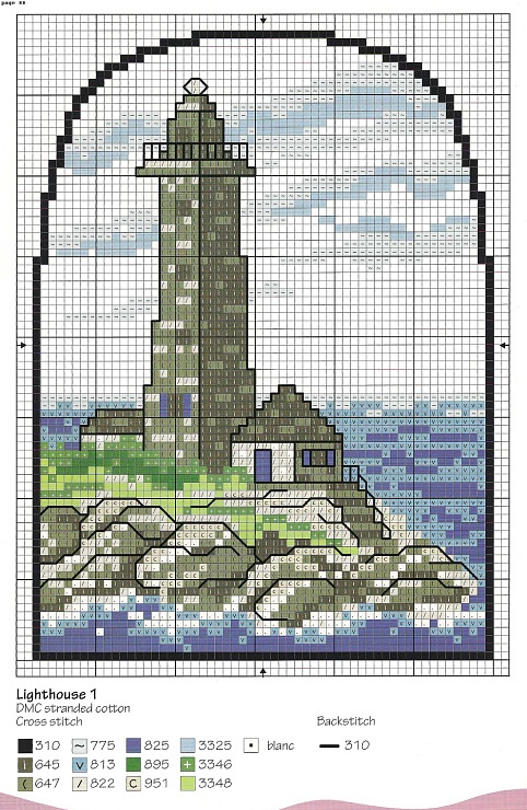 Gallery.ru / Фото #80 - Cross Stitch By the Sea - irislena