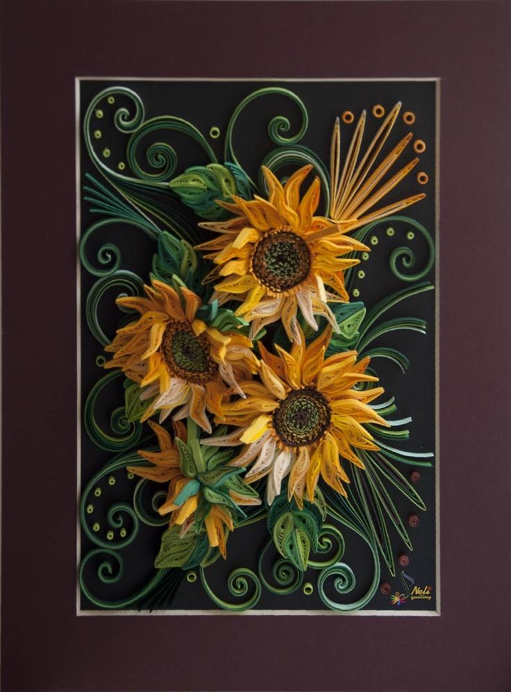 neli- beautiful sunflowers