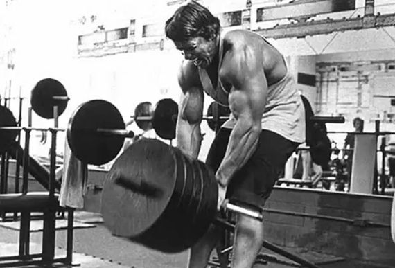 #Arnoldschwarzenegger executando #remada #cavalinho treino de costas dorsais na #academia.    #basefitness #academia #treino