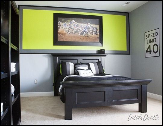 Bedroom Color Schemes For Teenage Guys : Teen boys bedroom designs dittle dattle teenage boy s